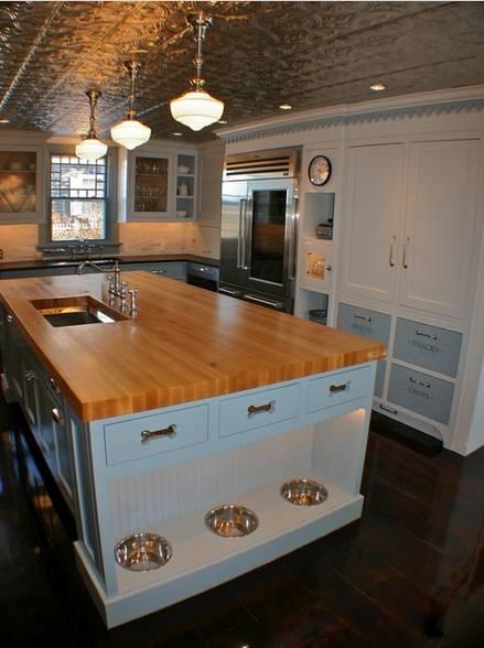 Reformas de interiores ideas decoracion mascotas cocina americana
