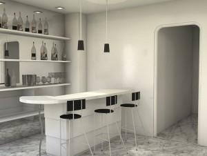 Reformas de interiores: Estanterías con fondo de espejo para tu vivienda