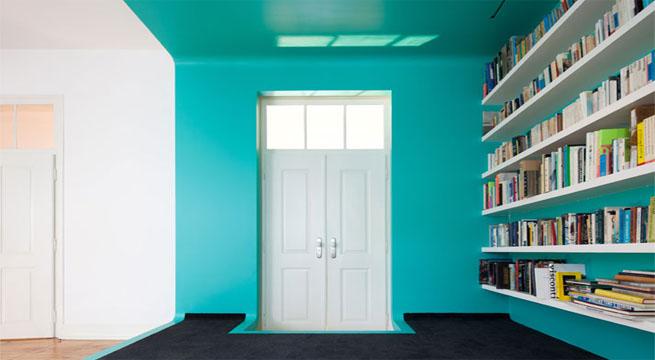 Reformas de interiores el teal ser el color del a o 2014 maxalto - Pared de colores ...
