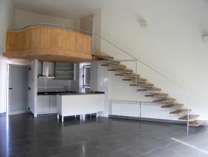 Reformas de interiores: 2 alturas en la vivienda en un mismo espacio