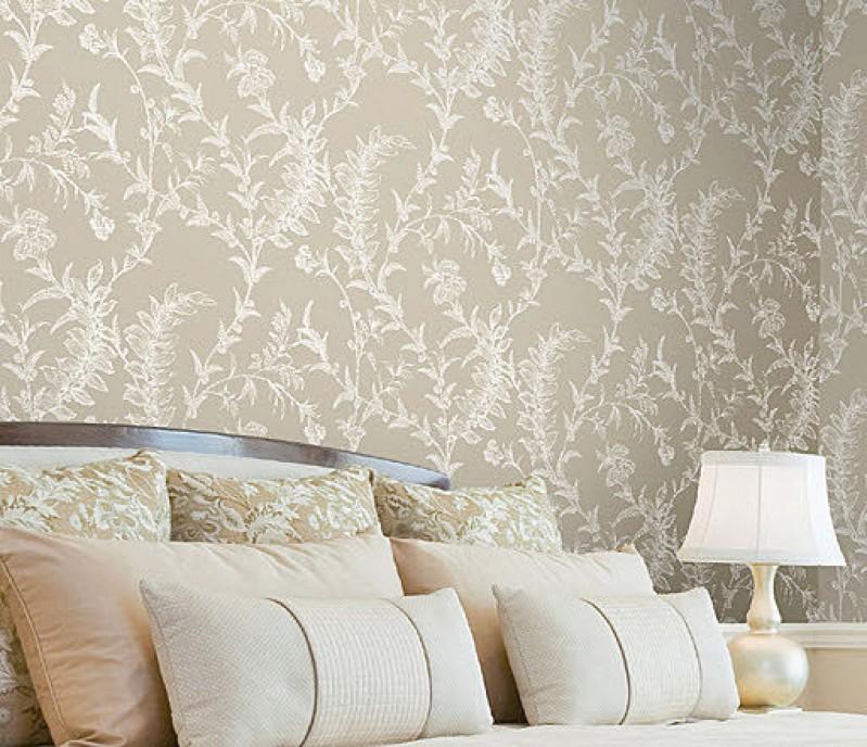 Reformas de interiores el papel pintado en el dise o de - Papeles pintados de pared ...